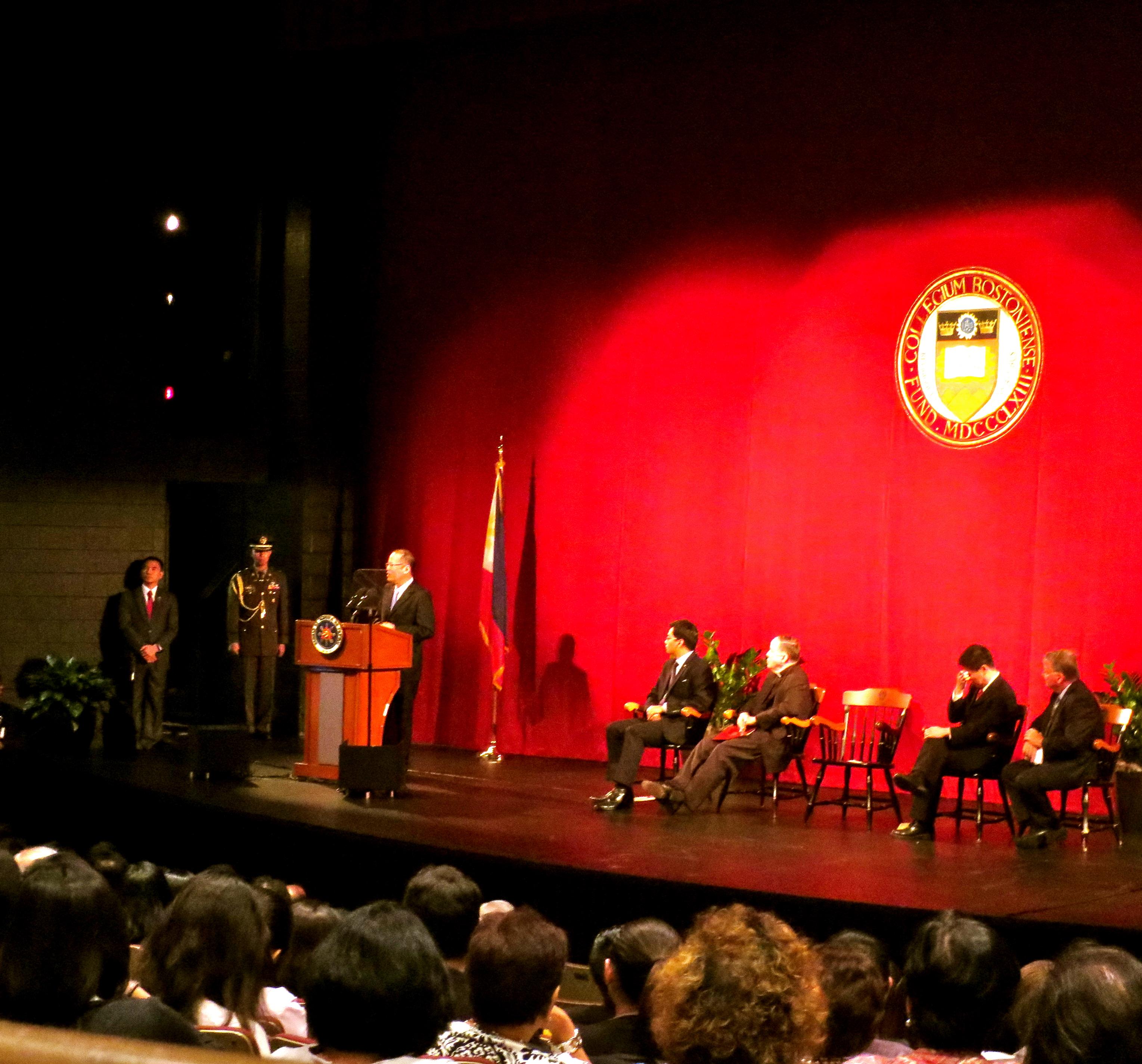 Boston College convocation