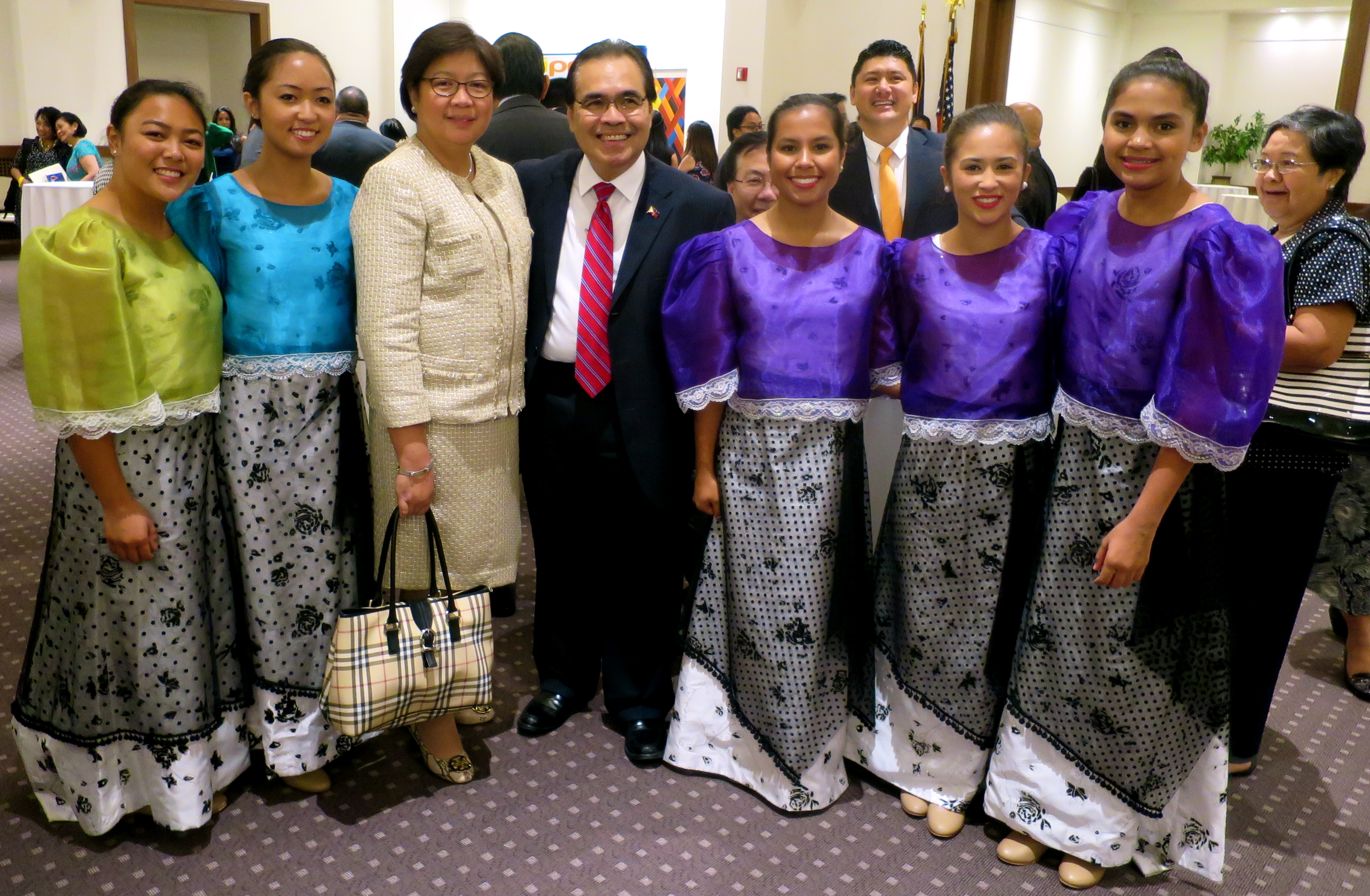 w/ NYC Consul General & Mrs. Mario DeLeon